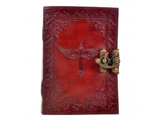 Handmade Antique Design Cross Journal Notebook Handmade Sketchbook